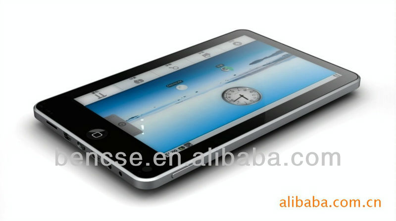 7 inch mic tablet pc android 2.2,ALLWINNER A10,1.5Ghz,1 RAM 16G SSD