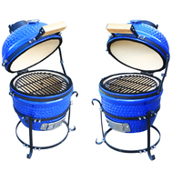 Unique Adjustable Height Round Charcoal BBQ Grill