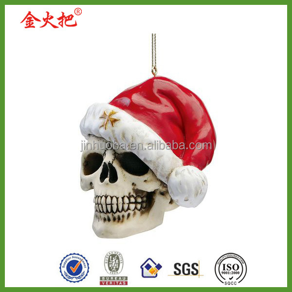 Polyresin santa claus christmas ornaments decoration