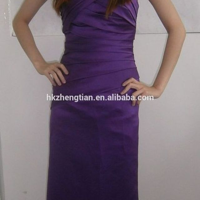 Clothes walson China factory s New CADBURY PURPLE BRIDESMAID EVENING WEDDING PROM DRESS