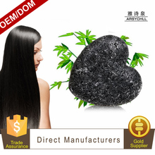 Bamboo charcoal hair care anti- dandruff wash clean oil control black charcoal shampoo