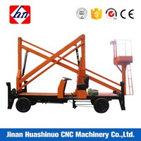 Various Model Straight Boom Lifting Crane And Trailer Mounted