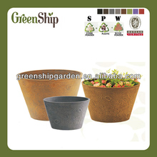 Decorative Plant Pots Wholesale from Greenship/ 20 years lifetime/ lightweight/ UV protection/ eco-friendly