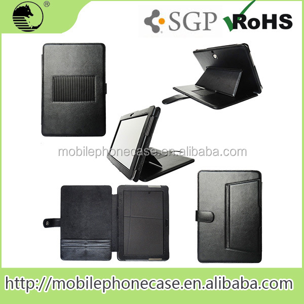 Wholesale PU Leather Shockproof Tablet Cases For Samsung Galaxy Tab 10.1 P7100