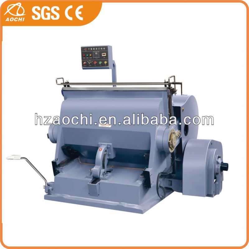 Semi-automatic hydraulic playing card die cutting machine with CE