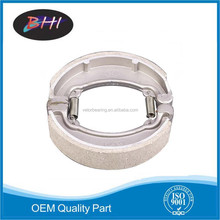 chinese tianjin top 10 brand names of motorcycle brake shoes cd70 for kingmoto