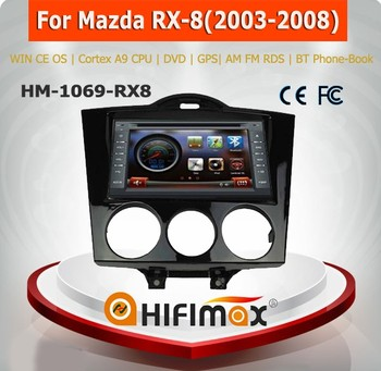 Hifimax touch screen car gps for MAZDA RX 8 RX8 car radio/mazda rx 8 car multimedia player/mazda rx8 car stereo audio system