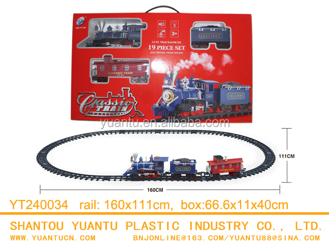 battery operated toy train set Classical Orbit Train Toys Set