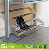 hot sell Aluminium post walk in wardrobe with shose rack in china