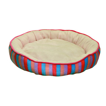 Fully Stocked Round Soft Pet Bed For Dogs