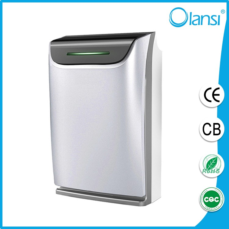 2016 new arrival CB,CE,RoHS, CQC certificate portable water based air purifier Olans HEPA ionizer air purifier for home