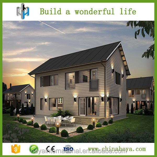 Innovative new prefab home products international shipping house