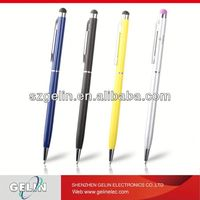 Universal Slim styli/sty Black Slim Touch Screen Stylus Pen Ink for iPhone iPad