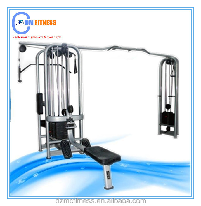 Super quality heavy duty fitness equipment multi jungle 5 stacks for fitness center