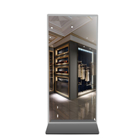 55 inch floor stand Magic Mirror Stand Alone Digital Signage Monitor