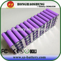 High power 18650 rechargeable battery pack 7s3p 25.2v 7.8ah li-ion battery lawn mower