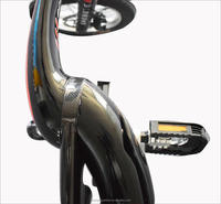 electric assisted carbon fiber frame city bicycle