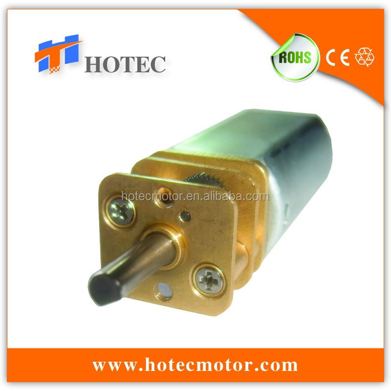 high precision reversible battery operated quiet low speed gear motor for display turntable