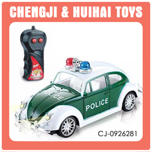 classic remote control cars electric toy vehicle model mini beetle car 2ch rc police car