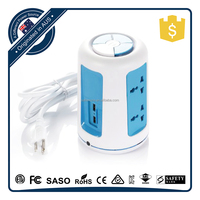 Universal Vertical Light Bulb Extension Socket With Certificate Materials