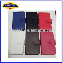 For Nokia Lumia 520 PU Leather Flip Case Card Slot Wallet Case for Nokia Lumia 520-- Laudtec