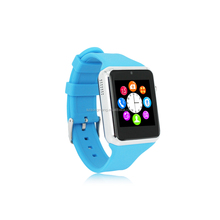 Blue Cute Women Men SmartWatch Sim Card Camera Smart Wrist For Android wrist watch