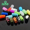 Cheap price disposable soft silicone 510 vape drip tips food grade silicon 19 colors for choice