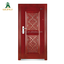 Cast iron gate grill design home decorationgood quality steel entry door