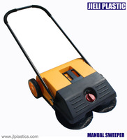 small manual street sweeper