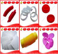 Custom Colorful 250 Centigrade High Heat Temperature Resistant Food Grade Silicone Rubber Product