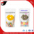 Laminated stand up snack packing pouch