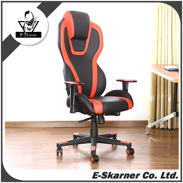 E-Skarner Racing style custom color and design pc gaming chair