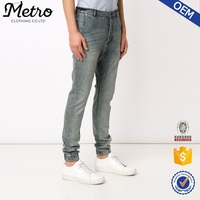 Plus size wholesale cotton blend brushed denim jeans for men