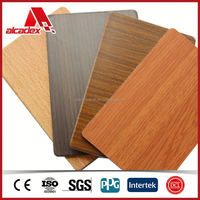 wooden grain aluminum roof panels, 2013 new building material