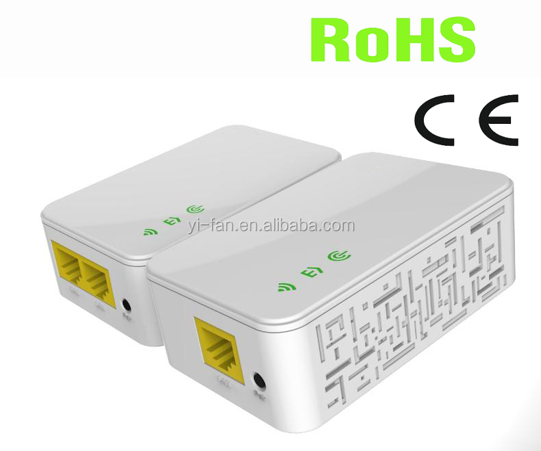 200Mbps Mini PLC wireless Powerline adapter with WIFI