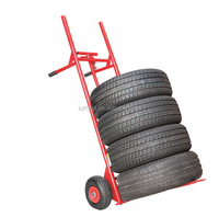 hand truck tires transport truck wheeled cart with tires pushcart wheel dolly