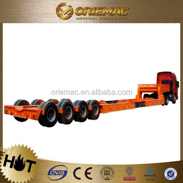 Top Quality Three Axles 45 Ton Bulk Cargo Semi Truck Trailers For Sale , truck trailer spare parts