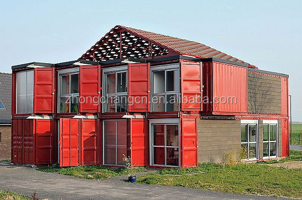 on sale 2 storey ocean container hotel quality shipping container house flat simple shipping container flat