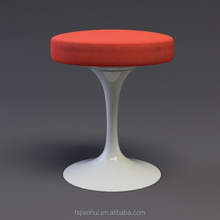 Modern design revolving fiberglass tulip stool kitchen stool for sale