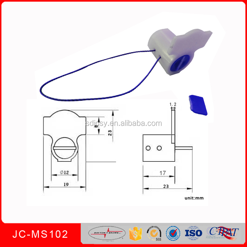 JCMS102 plastic rotor twist wring Electrical meter seals with stainless wire