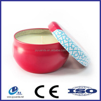 China supplier hot sale and recyclable mold existing heart candle tins