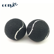 2017 Hot Sale New Custom Wholesale Black Tennis Balls Pre-cut Tennis Ball with Different Color Available