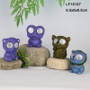 animal series polyresin solar led lights for crafts