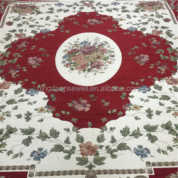 Chenille jacquard carpet /mat/rug antiskid and washable customization