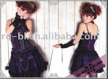 Plus Size Sexy Skirt Unusual gothic lolita Pattern 21012BP from RQ-BL