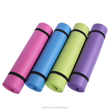 Wholesale eco friendly extra thick 10mm NBR yoga mat