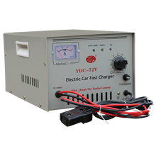 Multifunctional 72V DC output battery charger for rechargeable batteries