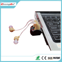 China Manufacturer rechargeable hearing aid for binaural