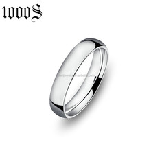 customized design jewelry stainless steel wedding ring