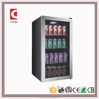 Candor: 3.1 cu.ft Upright Commercial display Refrigerator, Beverage Cooler Merchandiser Fridge with ETL-NSF approvals JC-88